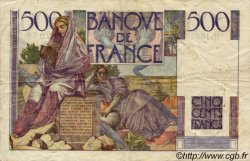 500 Francs CHATEAUBRIAND FRANCE  1948 F.34.08 TB+