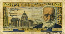 500 Francs VICTOR HUGO FRANCE  1954 F.35.03 pr.TB