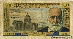 500 Francs VICTOR HUGO FRANCE  1954 F.35.03 B+