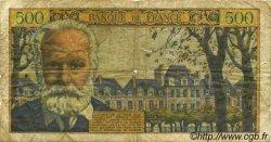 500 Francs VICTOR HUGO FRANCE  1955 F.35.04 pr.B