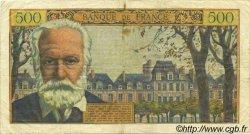 500 Francs VICTOR HUGO FRANCE  1955 F.35.04 TB à TTB