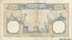 1000 Francs CÉRÈS ET MERCURE FRANCE  1927 F.37 TB