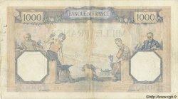 1000 Francs CÉRÈS ET MERCURE FRANCE  1927 F.37 TTB