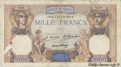 1000 Francs CÉRÈS ET MERCURE FRANCE  1928 F.37.02 AB