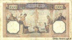 1000 Francs CÉRÈS ET MERCURE FRANCE  1930 F.37.04 B+