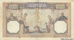 1000 Francs CÉRÈS ET MERCURE FRANCE  1930 F.37.04 pr.TTB