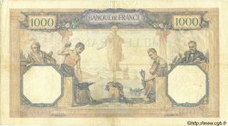 1000 Francs CÉRÈS ET MERCURE FRANCE  1930 F.37.05