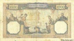1000 Francs CÉRÈS ET MERCURE FRANCE  1931 F.37.06 pr.TTB