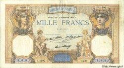 1000 Francs CÉRÈS ET MERCURE FRANCE  1931 F.37.06 TB+