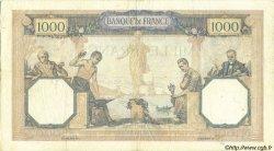 1000 Francs CÉRÈS ET MERCURE FRANCE  1932 F.37.07 TTB