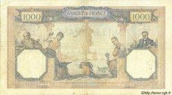1000 Francs CÉRÈS ET MERCURE FRANCE  1932 F.37.07 TB+