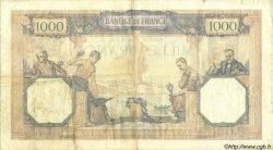 1000 Francs CÉRÈS ET MERCURE FRANCE  1932 F.37.07 pr.TTB