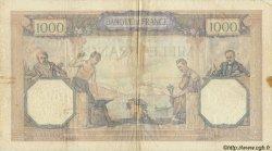 1000 Francs CÉRÈS ET MERCURE FRANCE  1933 F.37.08 TB