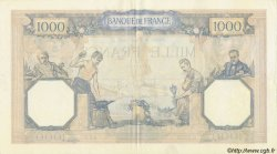 1000 Francs CÉRÈS ET MERCURE FRANCE  1936 F.37.09 TTB+ à SUP