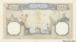 1000 Francs CÉRÈS ET MERCURE type modifié FRANCE  1937 F.38.06 pr.SUP