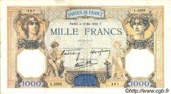 1000 Francs CÉRÈS ET MERCURE type modifié FRANCE  1938 F.38.14 TTB