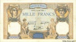 1000 Francs CÉRÈS ET MERCURE type modifié FRANCE  1938 F.38.14 pr.TTB
