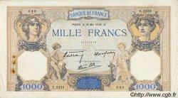 1000 Francs CÉRÈS ET MERCURE type modifié FRANCE  1938 F.38.15 TTB