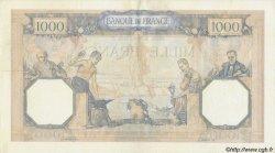 1000 Francs CÉRÈS ET MERCURE type modifié FRANCE  1938 F.38.16 TTB+