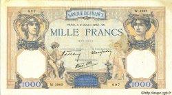 1000 Francs CÉRÈS ET MERCURE type modifié FRANCE  1938 F.38.28 TTB