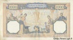 1000 Francs CÉRÈS ET MERCURE type modifié FRANCE  1938 F.38.28 SUP
