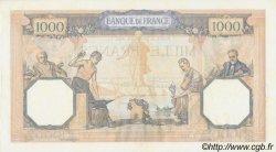 1000 Francs CÉRÈS ET MERCURE type modifié FRANCE  1938 F.38.31 SUP