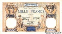 1000 Francs CÉRÈS ET MERCURE type modifié FRANCE  1938 F.38.31 pr.SUP