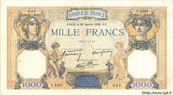 1000 Francs CÉRÈS ET MERCURE type modifié FRANCE  1939 F.38.33 TTB