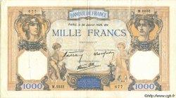 1000 Francs CÉRÈS ET MERCURE type modifié FRANCE  1939 F.38.33 pr.SUP