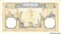 1000 Francs CÉRÈS ET MERCURE type modifié FRANCE  1939 F.38.34 pr.SUP