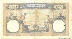 1000 Francs CÉRÈS ET MERCURE type modifié FRANCE  1939 F.38.35 TTB