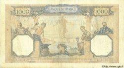 1000 Francs CÉRÈS ET MERCURE type modifié FRANCE  1940 F.38.42 pr.TTB