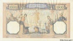 1000 Francs CÉRÈS ET MERCURE type modifié FRANCE  1940 F.38.44 SUP+
