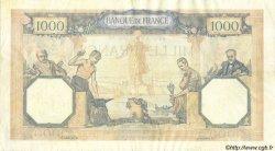 1000 Francs CÉRÈS ET MERCURE type modifié FRANCE  1940 F.38.45 pr.TTB