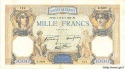 1000 Francs CÉRÈS ET MERCURE type modifié FRANCE  1940 F.38.46 TTB+