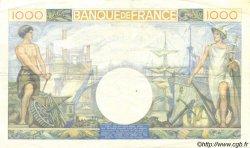 1000 Francs COMMERCE ET INDUSTRIE FRANCE  1940 F.39.02 TTB