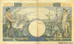1000 Francs COMMERCE ET INDUSTRIE FRANCE  1944 F.39.10 TB+
