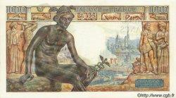 1000 Francs DÉESSE DÉMÉTER FRANCE  1942 F.40.09 SUP