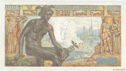1000 Francs DÉESSE DÉMÉTER FRANCE  1943 F.40.15