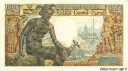 1000 Francs DÉESSE DÉMÉTER FRANCE  1943 F.40.18 TTB+