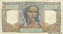 1000 Francs MINERVE ET HERCULE FRANCE  1945 F.41.03 TTB