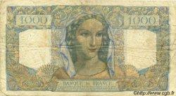 1000 Francs MINERVE ET HERCULE FRANCE  1945 F.41.05 pr.TB