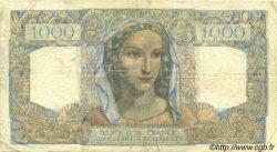 1000 Francs MINERVE ET HERCULE FRANCE  1945 F.41.05 TB+