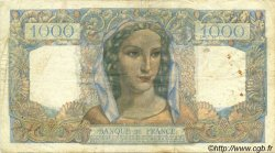 1000 Francs MINERVE ET HERCULE FRANCE  1945 F.41.06 TB