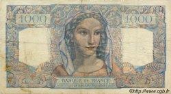 1000 Francs MINERVE ET HERCULE FRANCE  1946 F.41.10 TB+