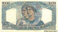1000 Francs MINERVE ET HERCULE FRANCE  1946 F.41.10 SUP