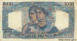 1000 Francs MINERVE ET HERCULE FRANCE  1946 F.41.14 TTB