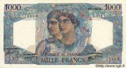 1000 Francs MINERVE ET HERCULE FRANCE  1947 F.41.18 pr.SPL
