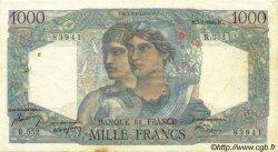1000 Francs MINERVE ET HERCULE FRANCE  1949 F.41.26 TTB+