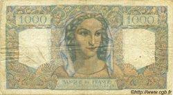 1000 Francs MINERVE ET HERCULE FRANCE  1949 F.41.26 B+